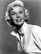 Doris Day Framed Prints - Doris Day, Warner Brothers, 1950s Framed Print by Everett