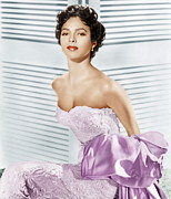 Strapless Photo Framed Prints - Dorothy Dandridge, Ca. 1950s Framed Print by Everett