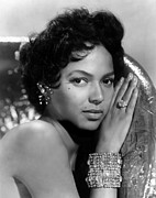 Diamond Earrings Framed Prints - Dorothy Dandridge, Circa 1959 Framed Print by Everett