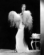 Ostrich Feathers Photo Prints - Dorothy Lamour, Paramount Pictures, 1937 Print by Everett