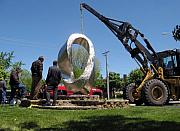 Big Sculptures - Double Mobius Strip by Plamen Yordanov