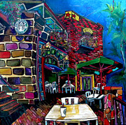 Scenic Originals - Downtown Starbucks by Patti Schermerhorn