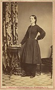 Us Civil Rights Posters - Dr. Mary Edwards Walker 1832-1919 Poster by Everett