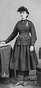 Famous Person Portrait Posters - Dr. Mary Edwards Walker Poster by Photo Researchers