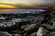 Inspire Photo Metal Prints - Dramatic Coastline Metal Print by Carlos Caetano