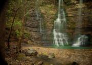 Dreamy Waterfalls Print by Iris Greenwell