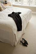 High Heeled Art - Dress Lying on Bed by Shannon Fagan