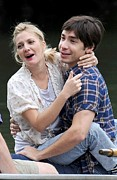 Drew Barrymore Photos - Drew Barrymore, Justin Long On Location by Everett