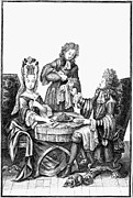 Servant Prints - DRINKING, 17th CENTURY Print by Granger