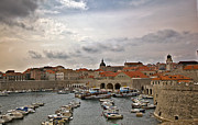 Red Roofs Framed Prints - Dubrovnik View 5 Framed Print by Madeline Ellis