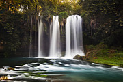 Side Pastels Prints - Duden Waterfalls Print by Andre Goncalves