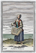 Dulcimer, 1723 Print by Granger