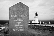 Most Posters - Dunnet Head Most Northerly Point Of Mainland Britain Scotland Uk Poster by Joe Fox