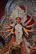 Goddess Durga Photo Posters - Durga Goddess 2012 Poster by Rajan Advani