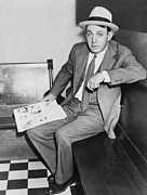 Irs Photo Posters - Dutch Schultz, Born Arthur Flegenheimer Poster by Everett