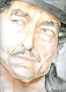 Bob Dylan Painting Originals - Dylan by Karen Clark
