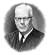 Chief Justice Art - Earl Warren (1891-1974) by Granger
