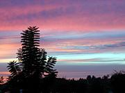 Sunrise-sunset Photographs By Frederic Kohli - Early Evening Sky by Frederic Kohli