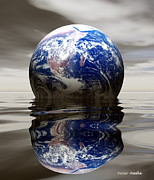 Flooding Photos - Earth by Victor Habbick Visions