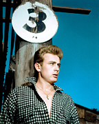Turned Up Collar Prints - East Of Eden, James Dean, 1955 Print by Everett