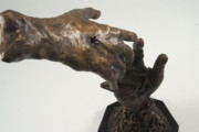 Close-up Sculptures - East to West by Barry K Snyder
