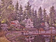 Charles Bridge Paintings - Echo Bay 3 by Charles Munn