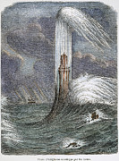 1759 Photos - Eddystone Lighthouse, 1759 by Granger