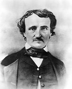 Edgar Alan Poe Metal Prints - Edgar Allan Poe Metal Print by Granger