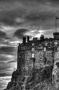 Edinburgh Photos - Edinburgh Castle by Marion Galt