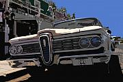 Antic Car Prints - Edsel on route 66 Print by David Lee Thompson