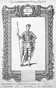 Black Prince Framed Prints - Edward (1330-1376) Framed Print by Granger