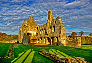 River Tees Prints - Egglestone Abbey Ruins Print by Trevor Kersley