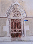 Eglise Print by Annick Beaulieu