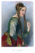 Aquitaine Framed Prints - Eleanor Of Aquitaine Framed Print by Granger