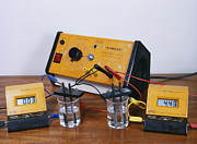Physics Photos - Electrical Conductivity by Andrew Lambert Photography
