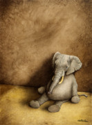 Toy Painting Prints - Elephant Tales... Print by Will Bullas