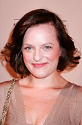 Academy Of Television Arts  Framed Prints - Elisabeth Moss At Arrivals For The Framed Print by Everett