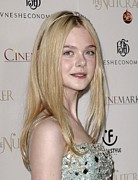 Fanning Posters - Elle Fanning At Arrivals For The Poster by Everett