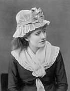 Theater Actress Photo Prints - Ellen Terry 1847-1928, English Actress Print by Everett