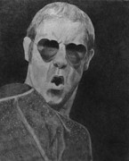Elton John Art - Elton John by Glenn Daniels
