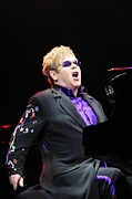 Elton John Photos - Elton John by Jenny Potter