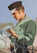Presley Painting Originals - Elvis Presley by Rob De Vries