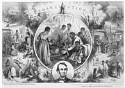 Abolition Framed Prints - Emancipation Proclamation Framed Print by Granger