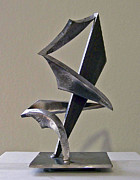 Steel Sculpture Sculptures - Embrace by John Neumann