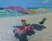 Emerald Coast Originals - Emerald Coast Umbrellas by John Terry