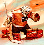 Goalie Digital Art Prints - EmeryRework Print by Steve Benton