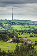 Telecommunication Framed Prints - Emley Moor TV Transmitter, Yorkshire, England Framed Print by Jon Boyes
