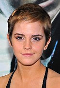 Deathly Hallows Art - Emma Watson At Arrivals For Harry by Everett