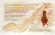 Scriptures Posters - Emmaus Poster by Judy Dodds