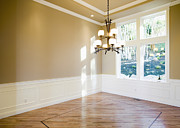Wood Floors Prints - Empty Room Print by Andersen Ross